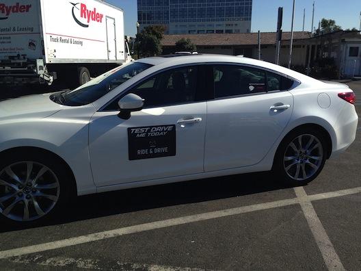 Car show - Mazda ride & drive