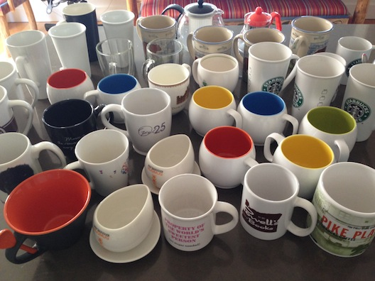 Cleaning - mugs