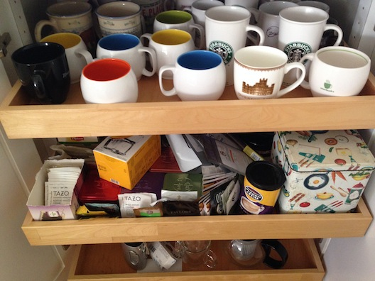 tea drawers