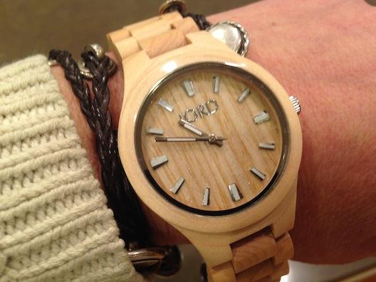 Jord watch on wrist