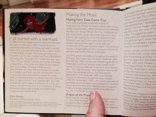 Little Mermaid CD book