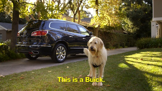 This is a Buick ad