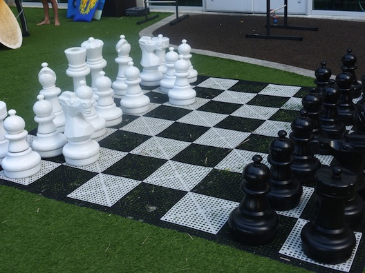 Marriott Oceana Palms chess board