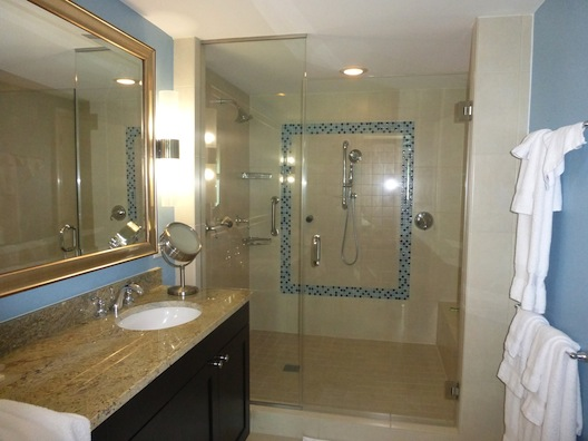 Marriott Oceana Palms master bath