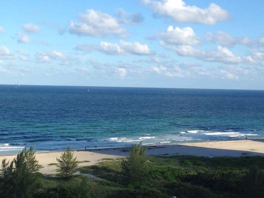 Marriott Oceana Palms view