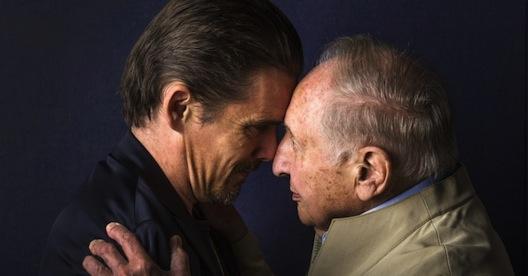 Ethan Hawke and Seymour Bernstein