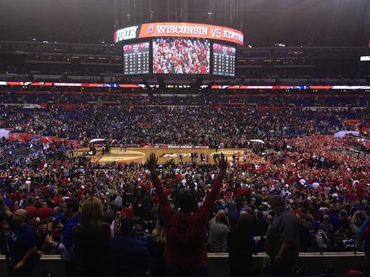 Final Four - Wisconsin wins
