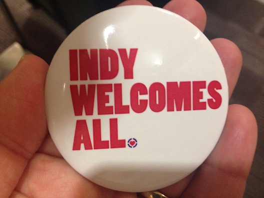 Indy welcomes all