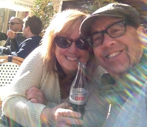 Lois and Michael in Aix-en-Provence