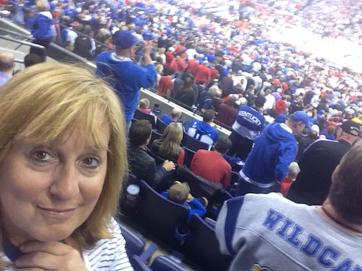Lois at Final Four