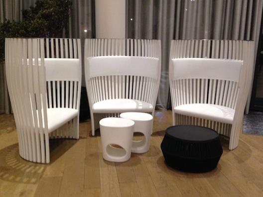 Renaissance Aix white chairs