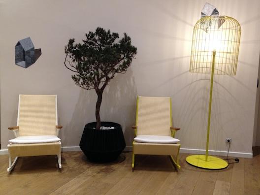 Renaissance Aix yellow chairs