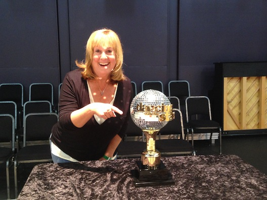 Dancing with the Stars - Lois trophy
