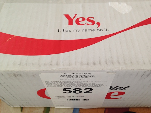 Diet Coke - box