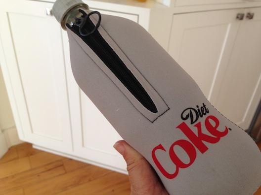 Diet Coke zipper