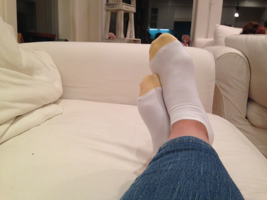 Gold Toe yellow socks