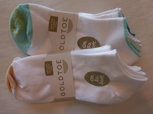 GoldToe socks pack