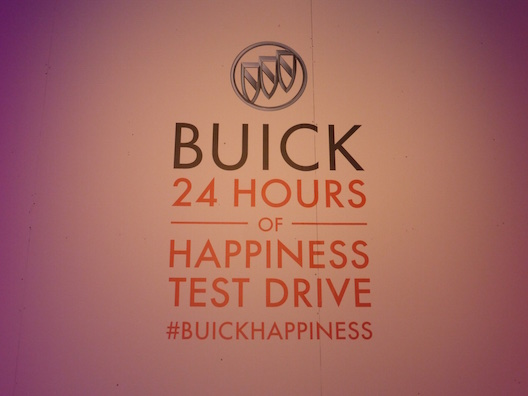 Buick 24 Hours of Happiness test drive