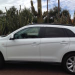 road tripping in the mitsubishi outlander sport