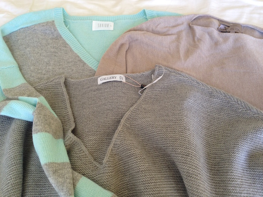 Dunne Stores sweaters