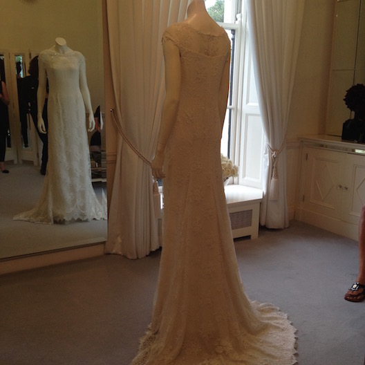 Louise Kennedy bridal gown