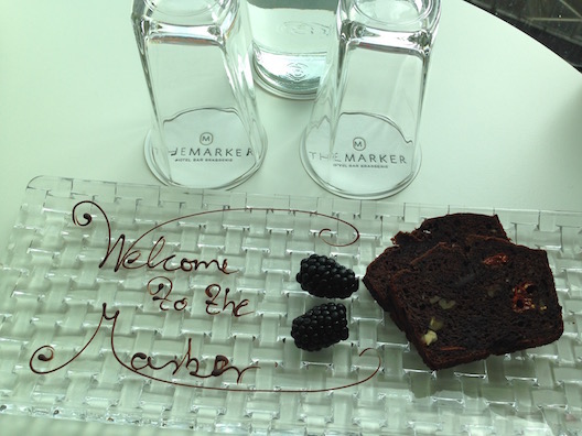 Marker Hotel welcome