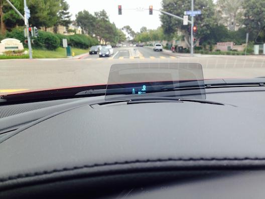 Mazda6 active driving display