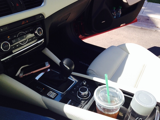 Mazda6 cup holders