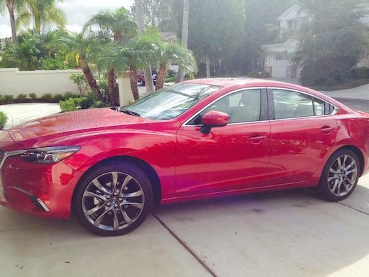 Mazda6 driveway