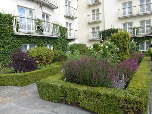 Merrion Hotel garden