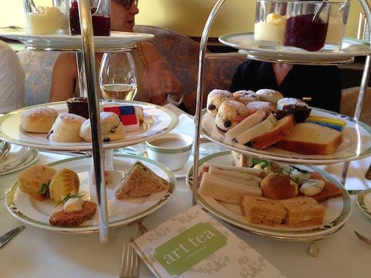 Merrion Hotel tea trays
