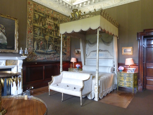 Russborough House bedroom