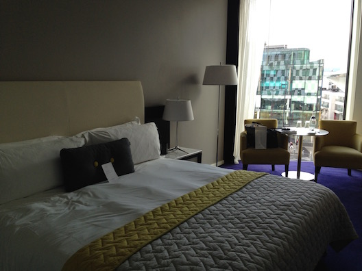 The Marker Hotel room