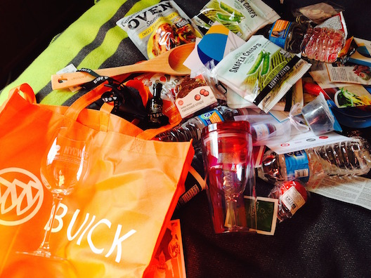 Buick Food Festival swag