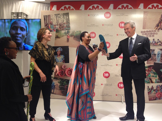 Rwanda Path to Peace at Macy's