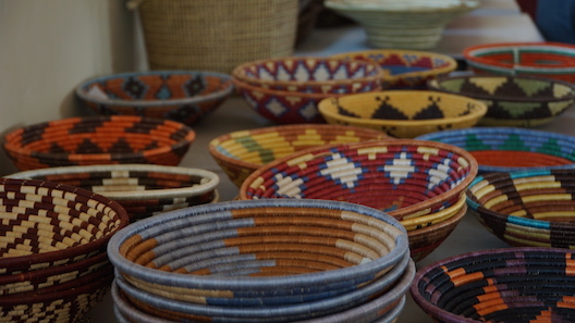 Rwanda Path to Peace baskets