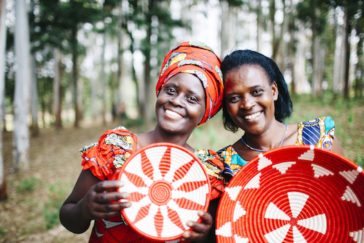 Rwanda Path to Peace two women