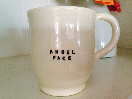 Beanpole Pottery Angel Face