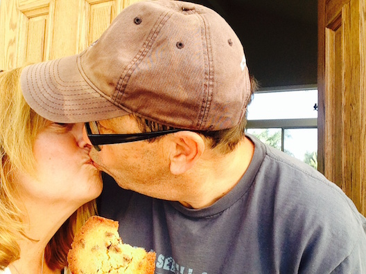 Betty Crocker - Lois and Michael kiss