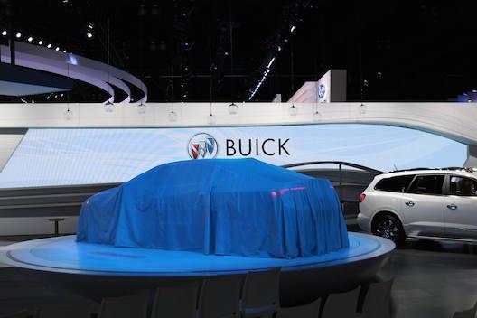 Buick LaCrosse preshow