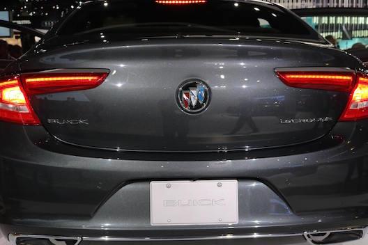 Buick LaCrosse back