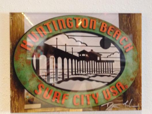 Huntington Beach sign