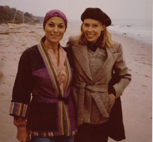 Joni Mitchell and Malka Marom