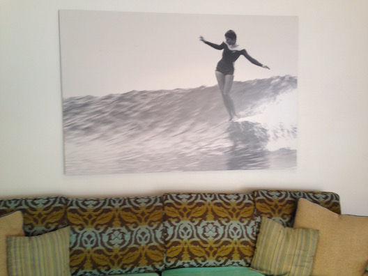 Shorebreak couch surf art