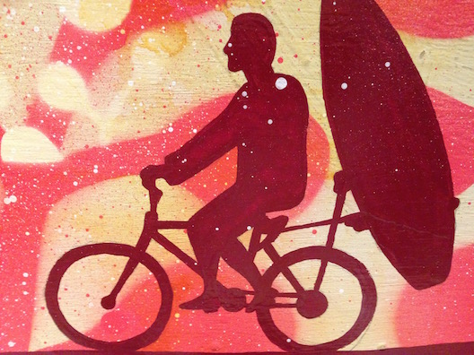Shorebreak hotel biker surf art