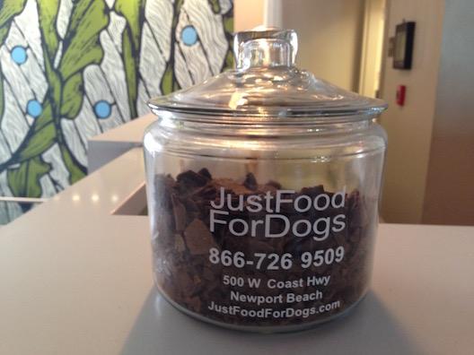 Shorebreak hotel dog treats
