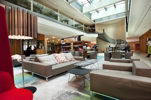 Swissotel Berlin lobby