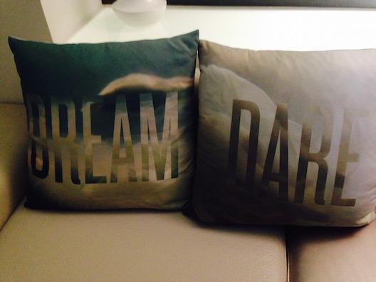 W hotel pillows