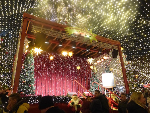 Christmas Markets stage
