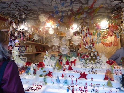 Christmas markets Christmas booth